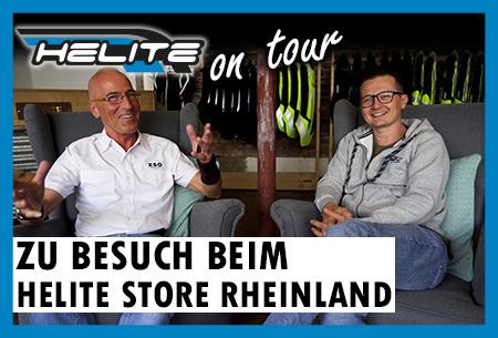 Helite on Tour: Zu Besuch beim Helite Store Rheinland