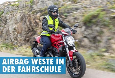 Warum Airbags zur Motorrad-Ausbildung gehören!