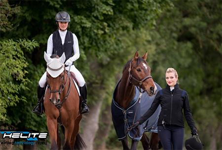 Das Pferde Magazin berichtet über Helite Reitbekleidung mit Airbag