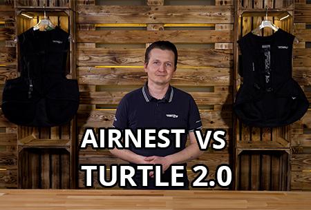 Airbag-Westen im Vergleich: Airnest und Turtle 2.0