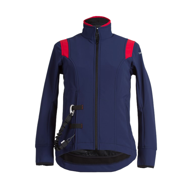 Airshell-Jacke blau/rot Child L