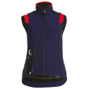 Airshell-Weste blau/rot Child L