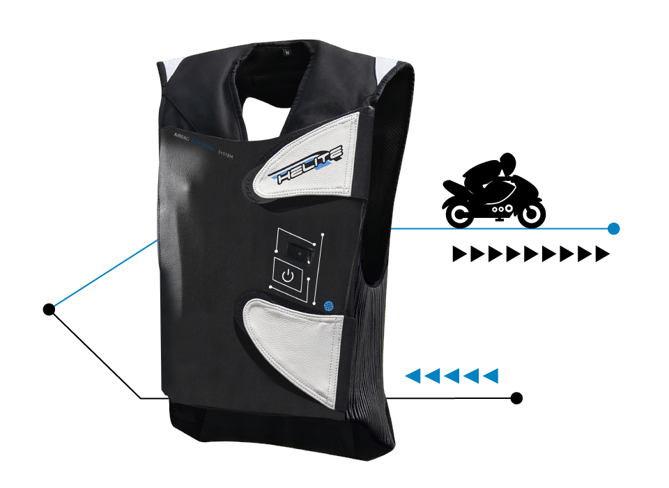 Helite e-GP-Air Airbag-Weste
